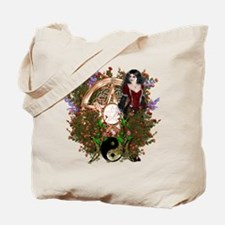 Summer Solstice Wicca Pentacle Tote Bag