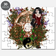 Summer Solstice Wicca Pentacle Puzzle