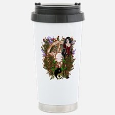 Summer Solstice Wicca Pentacle Travel Mug