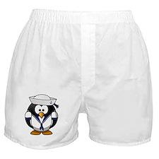 Sailor Penguin Boxer Shorts
