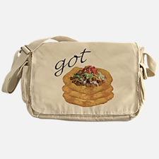 got frybread? Messenger Bag
