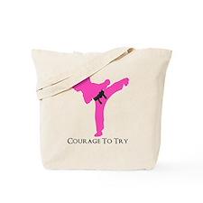Martial Artist Tote Bag