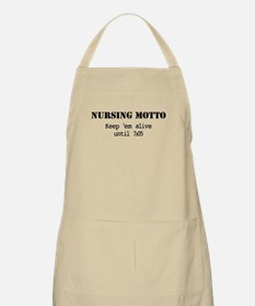 Nursing Motto Apron