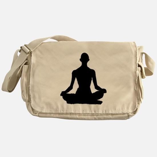 Yoga Buddhism meditation Pose Messenger Bag