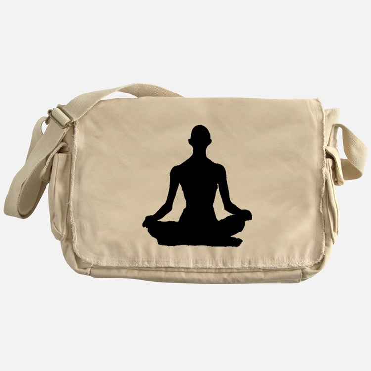 Yoga Buddhism meditation Pose Messenger Bag