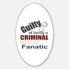 Criminal Minds Fantic Decal