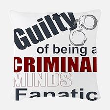 Criminal Minds Fantic Woven Throw Pillow