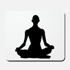Yoga Buddhism meditation Pose Mousepad