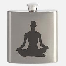 Yoga Buddhism meditation Pose Flask