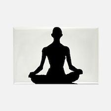 Yoga Buddhism meditation Pose Magnets