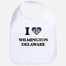 I love Wilmington Delaware Bib