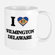 I love Wilmington Delaware Mugs