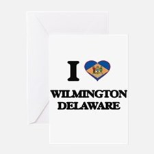 I love Wilmington Delaware Greeting Cards