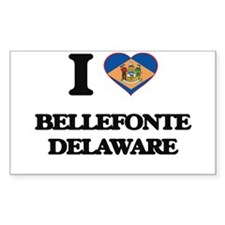 I love Bellefonte Delaware Decal