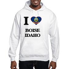 I love Boise Idaho Hoodie