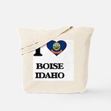 I love Boise Idaho Tote Bag