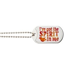 Spirit in Me Dog Tags