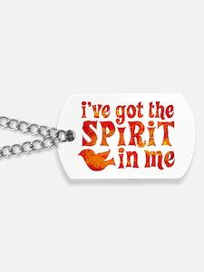 Spirit in Me Dog Tags
