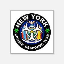 New York Zombie Response Team White Sticker