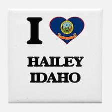 I love Hailey Idaho Tile Coaster