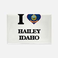 I love Hailey Idaho Magnets