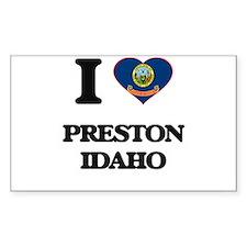 I love Preston Idaho Decal