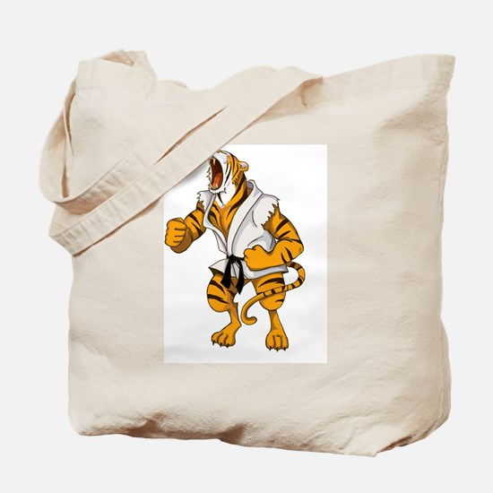 Fierce Tiger Tote Bag