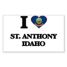 I love St. Anthony Idaho Decal