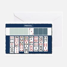 Freecell Solitaire Greeting Cards
