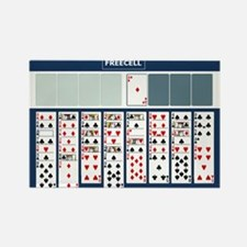 Freecell Solitaire Magnets