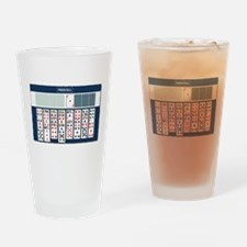 Freecell Solitaire Drinking Glass