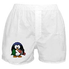 Swimmer Penguin Boxer Shorts