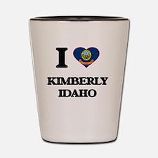 I love Kimberly Idaho Shot Glass