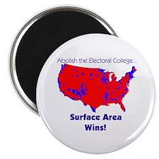 George Bush- Surface Area Wins Magnet