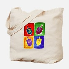 Four Dreidels Tote Bag