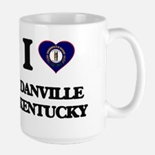 I love Danville Kentucky Mugs