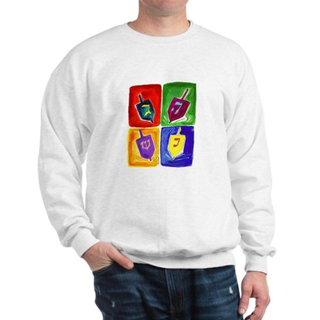 Four Dreidels Sweatshirt