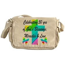 GOD LOVING 50TH Messenger Bag