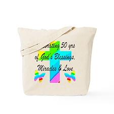 GOD LOVING 50TH Tote Bag