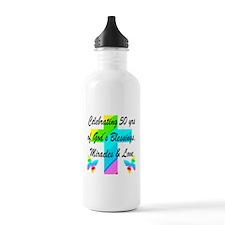GOD LOVING 50TH Water Bottle