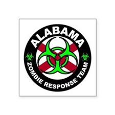 Alabama Zombie Response Team Green Sticker