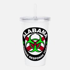Alabama Zombie Respons Acrylic Double-wall Tumbler