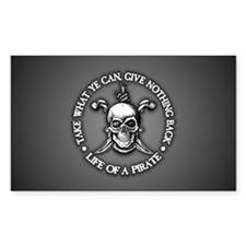 Pirate -Take What You Can Decal