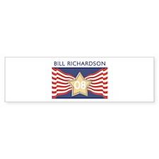 Elect BILL RICHARDSON 08 Bumper Bumper Sticker