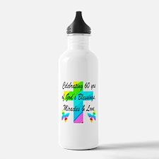 60 YR OLD PRAYER Water Bottle
