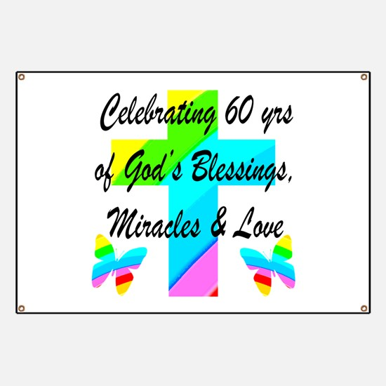 60Th Birthday 60th Birthday Banners & Signs