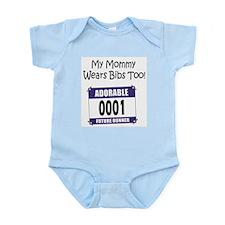 My Mommy Wears Bibs Too Infant Bodysuit