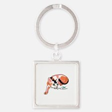 Abyssinian cat Keychains