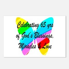 65 YR OLD PRAYER Postcards (Package of 8)