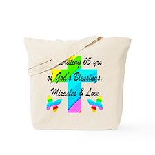 65 YR OLD PRAYER Tote Bag